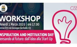 """G55 Partanna, """"Motivation and Inspiration day. Pensando al futuro: dall'idea alla start up"""""""