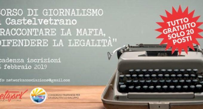 """Come """"raccontare la mafia, difendere la legalità"""". A Castelvetrano un corso di giornalismo gratuito"""
