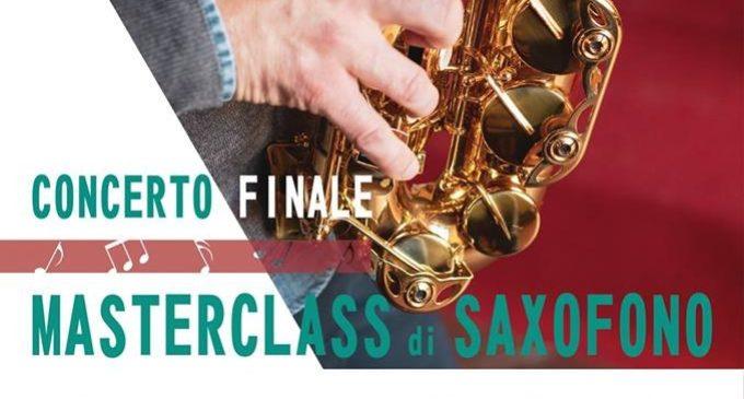 Oggi serata finale della Masterclass di Saxofono. Presente il maestro Francesco Paolo Barbaria