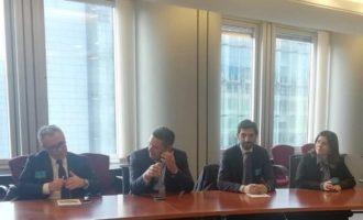 Partanna, il sindaco e l'assessore Zinnanti al Parlamento Europeo a Bruxelles.L'amministrazione guarda all'Ue per lo sviluppo del territorio