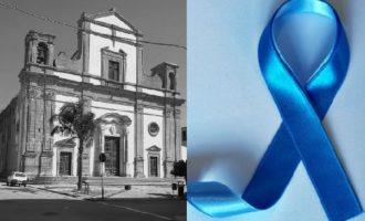 Partanna, diverse iniziative per la Giornata sull'autismo e la Chiesa Madre si tinge di Blu