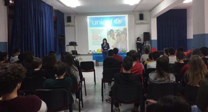 Partanna: Gli studenti dell'I. Montalcini condividono l'iniziativa di solidarietà promossa dall'Unicef