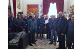 Partanna, Catania incontra i lavoratori forestali e i sindacati di categoria