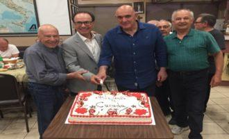 Santa Ninfa: Il sindaco a Toronto in visita privata all'Associazione degli emigrati trapanesi