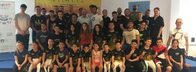 Msp Sicilia, due campioni di Kick Boxing al Campus Terrasini per conoscere strategie e segreti di questa disciplina