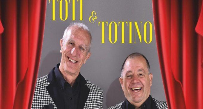 """Partanna, il 29 luglio lo spettacolo di Toti & Totino al Teatro Provinciale """"Lucio Dalla"""""""