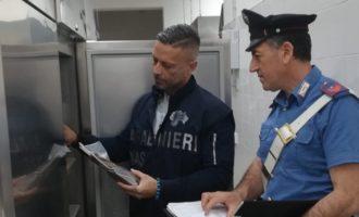 """Mazara del Vallo: Carabinieri chiudono ristorante in zona """"Tonnarella"""""""