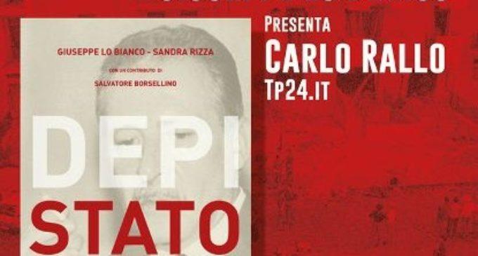"""Marsala: Venerdì la presentazione del libro """"Depistato"""" di Lo Bianco e Rizza"""