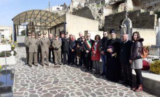 """Partanna:  Commemorazione del Maresciallo Maggiore """"A.""""  Vincenzo Li Causi"""