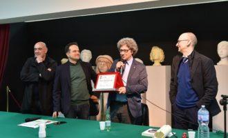 Santa Ninfa: Premio Cordio, consegnata a Riccardo Cucchi la targa dell'undicesima edizione