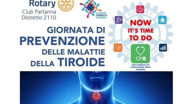 Screening tiroideo gratuito. L'iniziativa del Rotary Club Partanna, il 15 dicembre